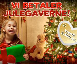 Vind julegaver for 2.500 kr.