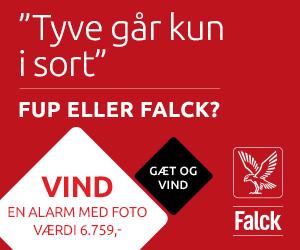 Vind en Falck Alarmpakke til en værdi af 6.270